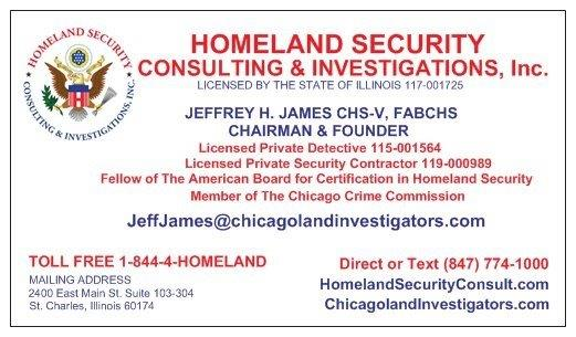 homeland business card