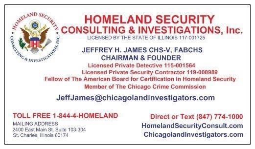 homeland business card